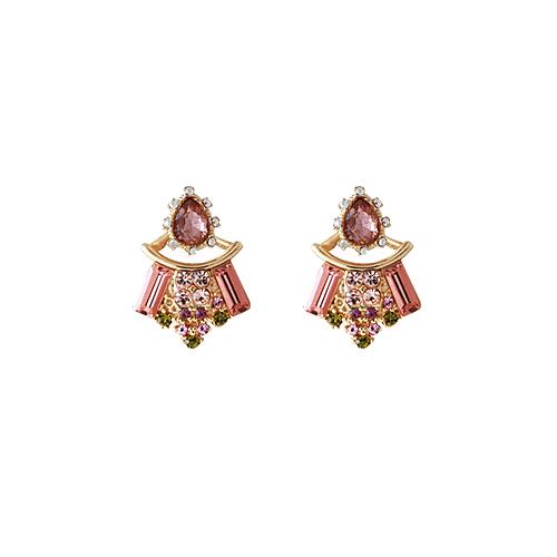 Princess B. Earrings [Champagne]/프린세스 비 귀걸이 [샴페인]