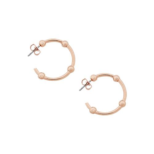 Rosegold Classic Hoop Earrings