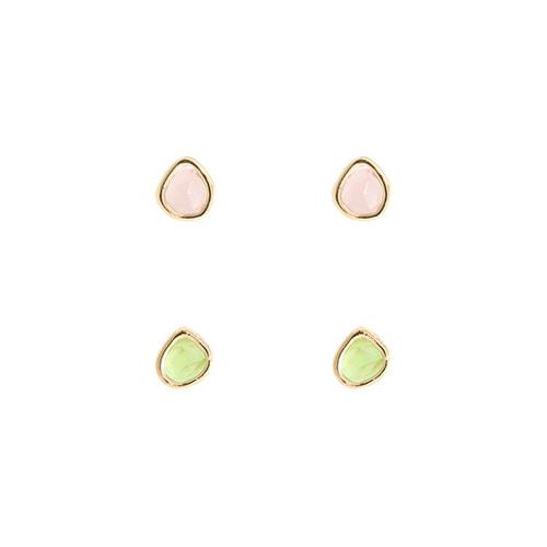 Juicy Duo Post Earrings/쥬씨 듀오 포스트 귀걸이