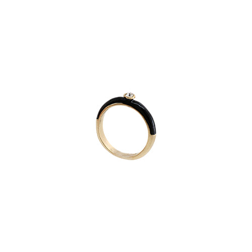 Black Glossy Color Ring