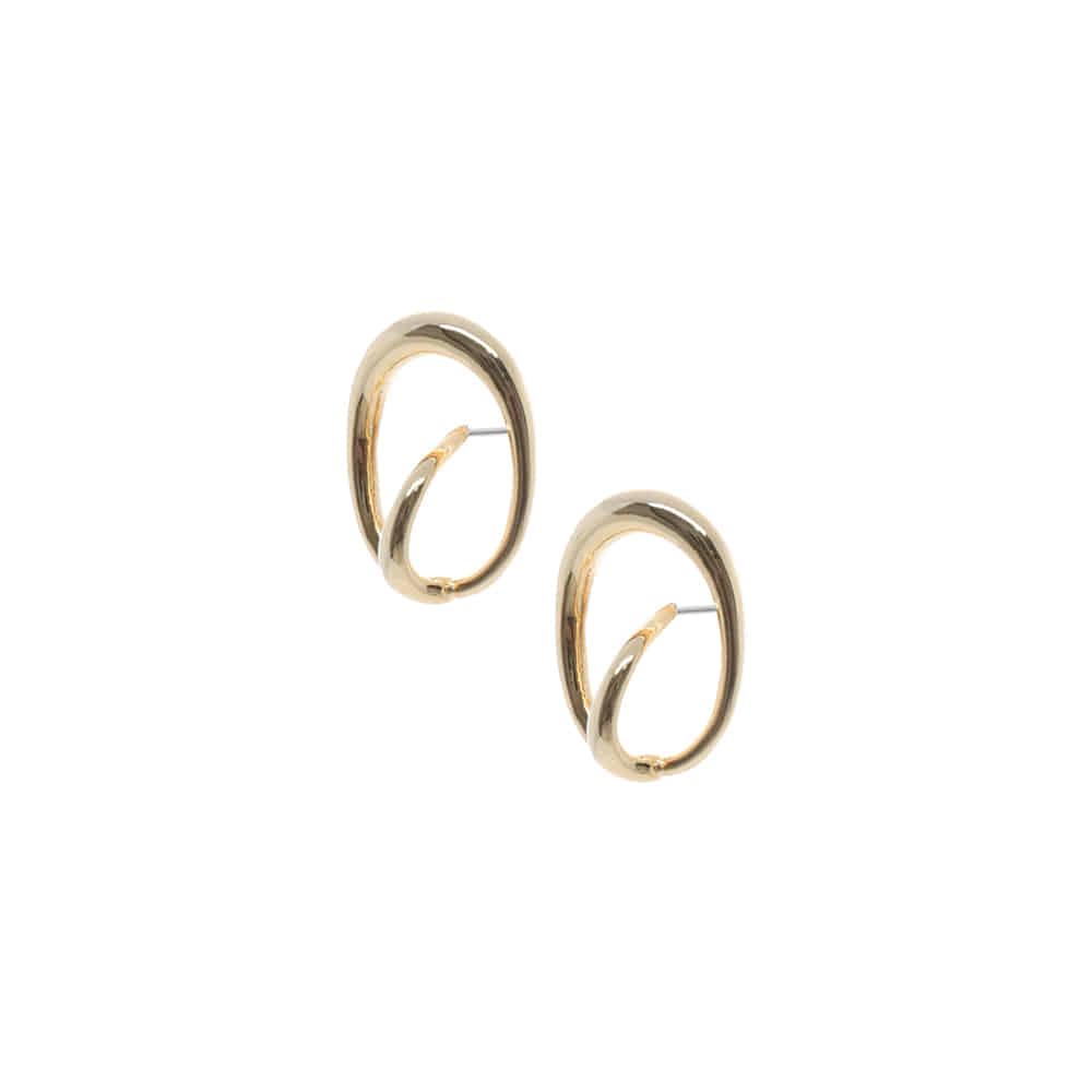 Oval Circle Ring Earrings/오벌 써클 링 귀걸이