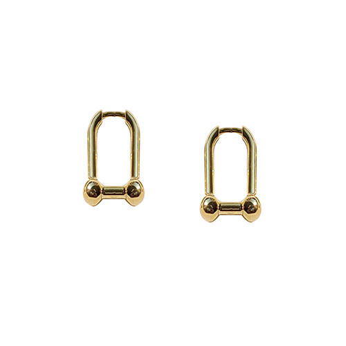 92.5 Silver Ball Onetouch Earrings//92.5 실버 볼 원터치 귀걸이