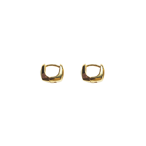92.5 Silver Volume Onetouch Earrings/92.5 실버 볼륨 원터치 귀걸이
