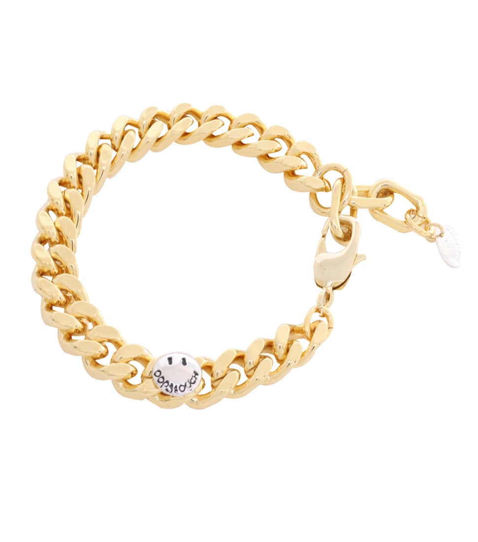OOPS&OUCH Square Chain Bracelet in Gold