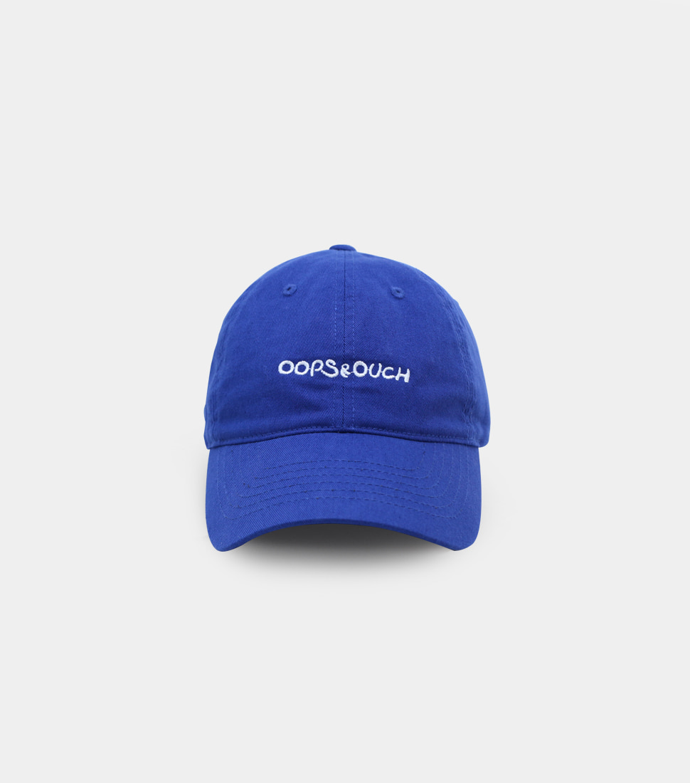 OOPS&OUCH Blue Twin Egg Embroidery Ball Cap