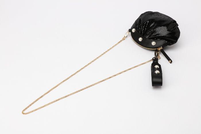 Pearl Clam crossbody minibag