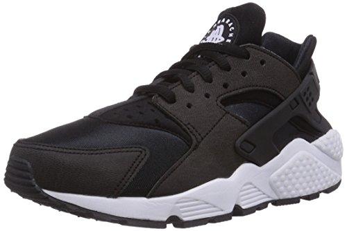 NIKE Air Huarache Run Womens Shoes Black/Black-White 634835-006 (8.5 B(M) US)