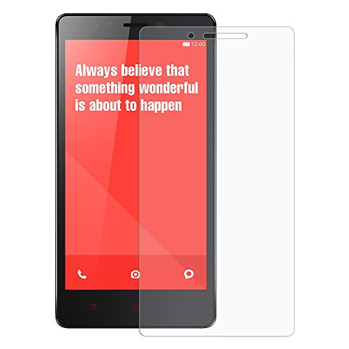 Amzer Kristal Screen Guard Scratch Protector for Xiaomi Redmi Note - Retail Packaging - Clear