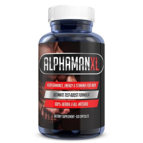 AlphaMAN XL Male Pills   2+ Inches in 60 days - Enlargement Booster Increases Energy  Mood & Enduran
