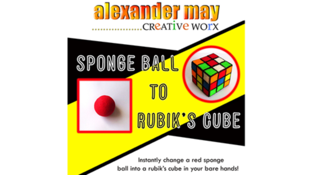 Ball to Rubik's Cube*** by Alexander May - TrickBall to Rubik's Cube*** by Alexander May - Trick
