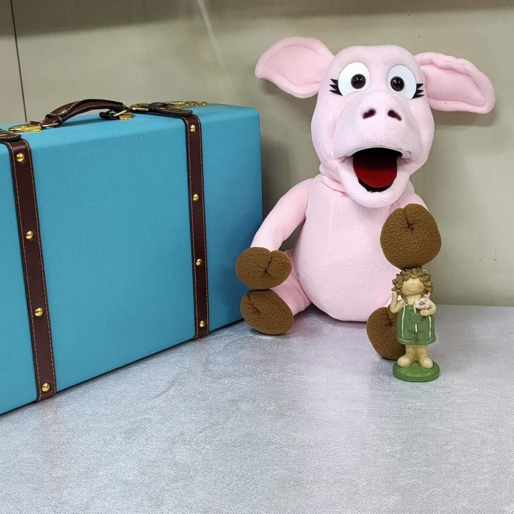 돼지복화술인형(ANIMAL PUPPET ( PIG )돼지복화술인형(ANIMAL PUPPET ( PIG )