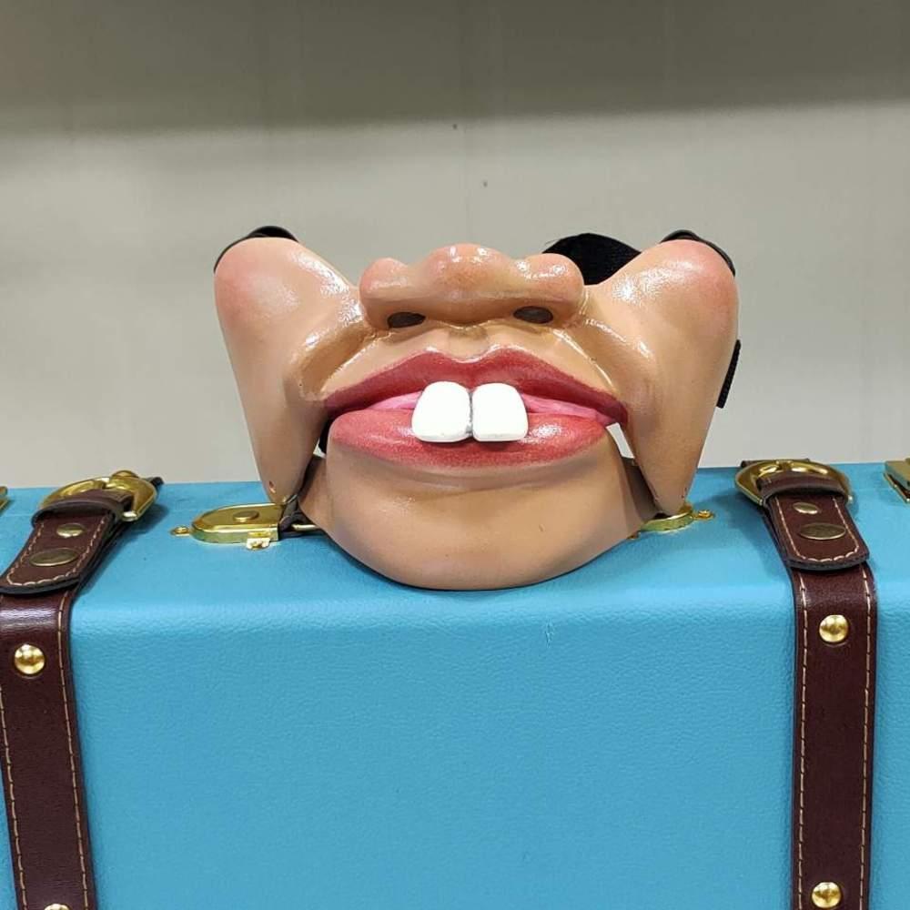 토끼마스크(복화술마스크)TALKING MASK (Big Teeth wit out Mole)토끼마스크(복화술마스크)TALKING MASK (Big Teeth wit out Mole)