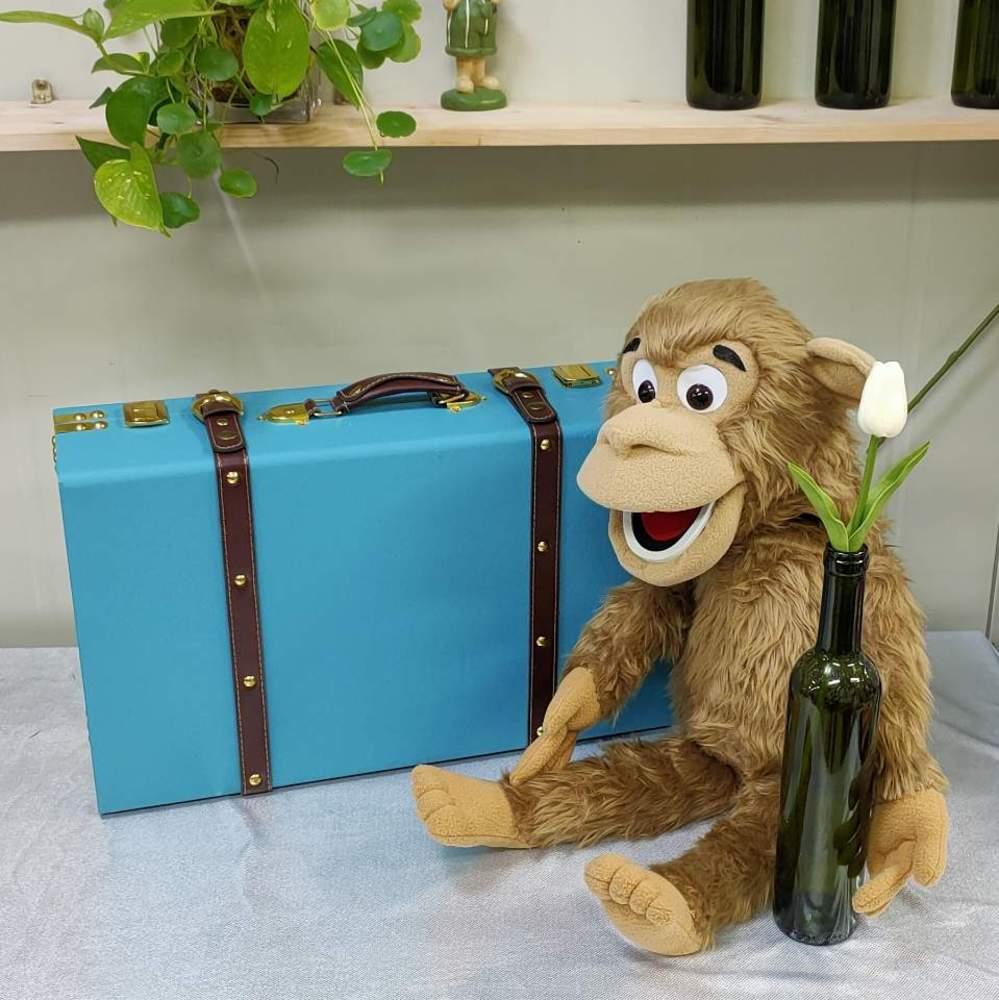 원숭이복화술인형 (ANIMAL PUPPET (MONKEY )원숭이복화술인형 (ANIMAL PUPPET (MONKEY )