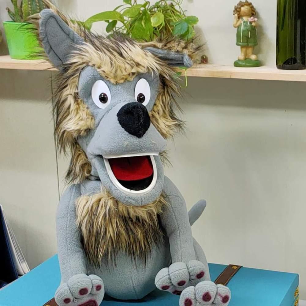 늑대복화술동물인형(ANIMAL PUPPET (WOLF)늑대복화술동물인형(ANIMAL PUPPET (WOLF)