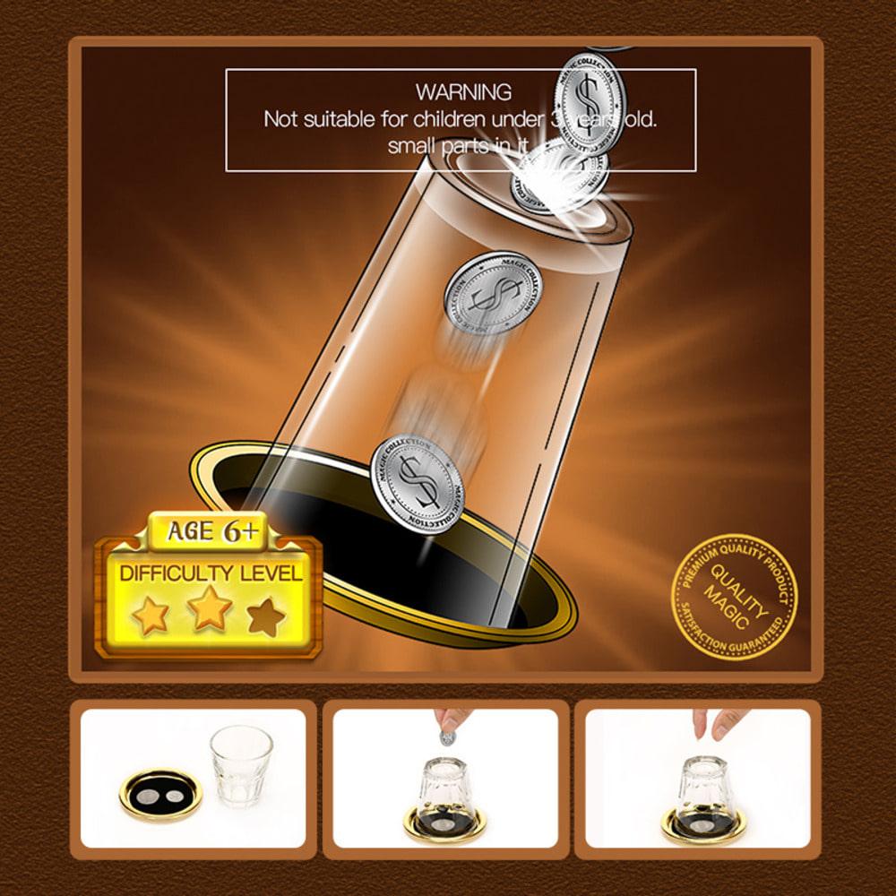 (마법회)코인쓰루글라스Coin Thru Glass(마법회)코인쓰루글라스Coin Thru Glass