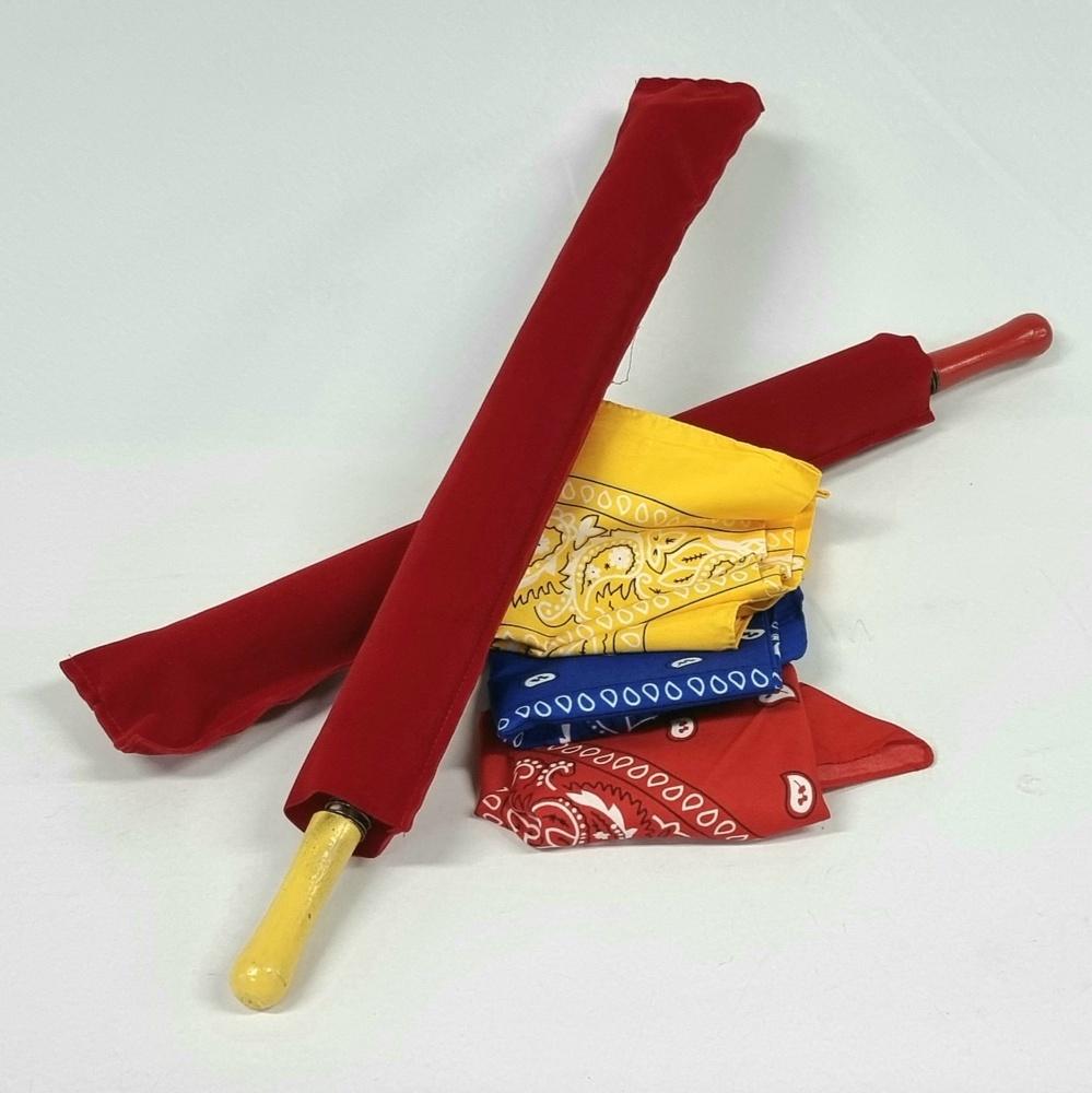 엄브렐라프롬실크세트(Umbrella From Bandana Set) (random color for umbrella)엄브렐라프롬실크세트(Umbrella From Bandana Set) (random color for umbrella)