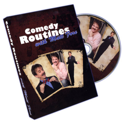 Comedy Routines by Matt Fore - DVD