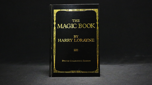The Magic Book Deluxe (No Slipcase) of Harry Lorayne - Book