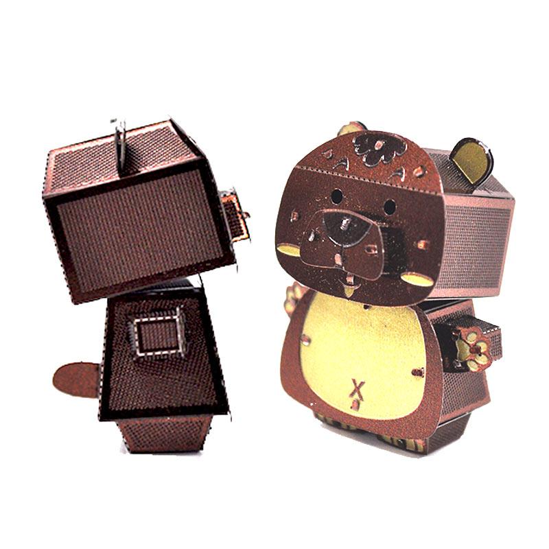 JLCC [3D컬러메탈퍼즐]곰(3D Color Metal Puzzle-Bear)