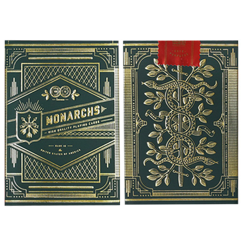 JLCC 그린모너크덱(Green Monarchs - Playing Cards)
