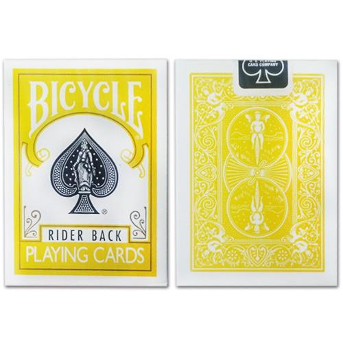 JLCC 바이시클카드_옐로우(Bicycle Poker Deck _Yellow Deck)_by Di Fatta and USPCC