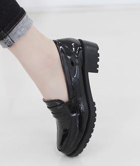 비엘디 에나멜 로퍼 3.5cm여성 슈즈 신발