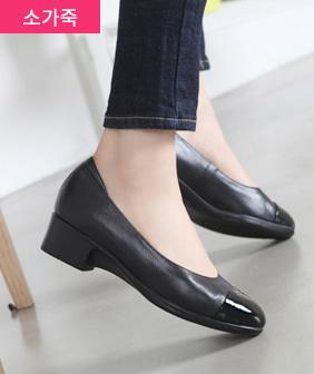 수제화 천연소가죽 보르비 단화 4cm여성 슈즈 신발
