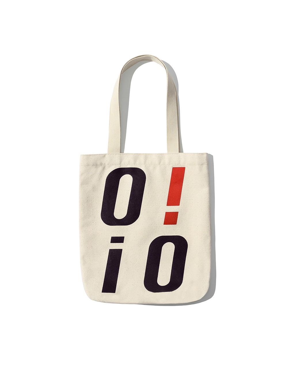[ORIGINAL PACK] BIG LOGO ECO BAG [IVORY]