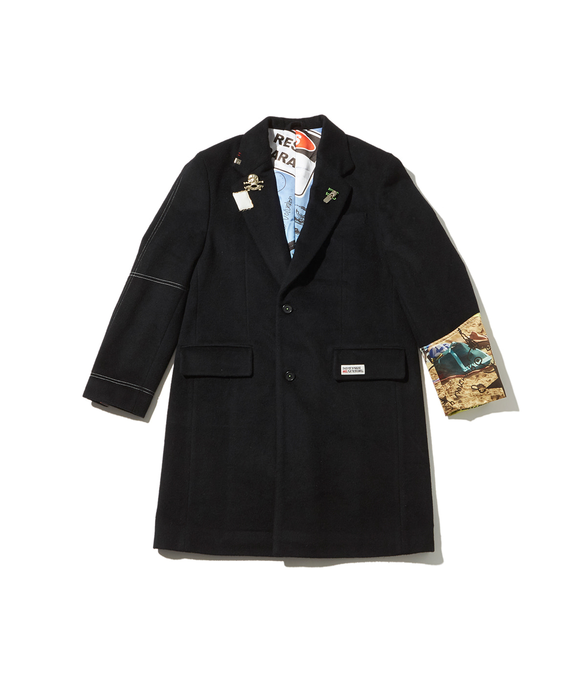 Chaos Chester filed coat (Black)