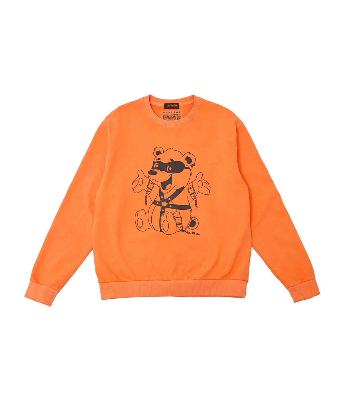Bondaged-bear Sweatshirts (Orange)