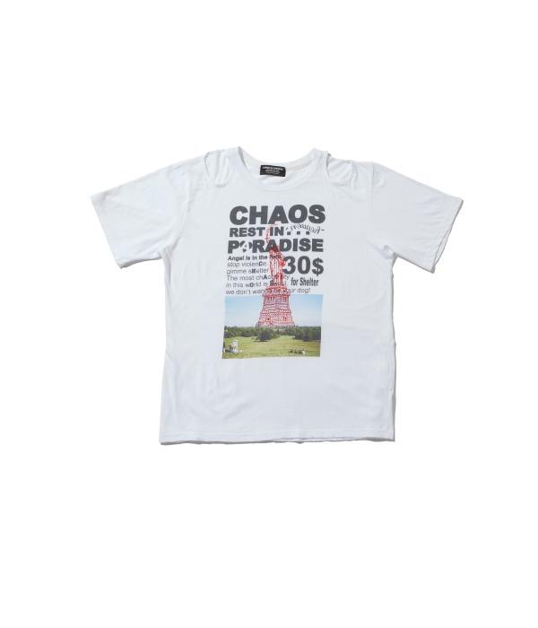 Choas RIP tshirts (White)