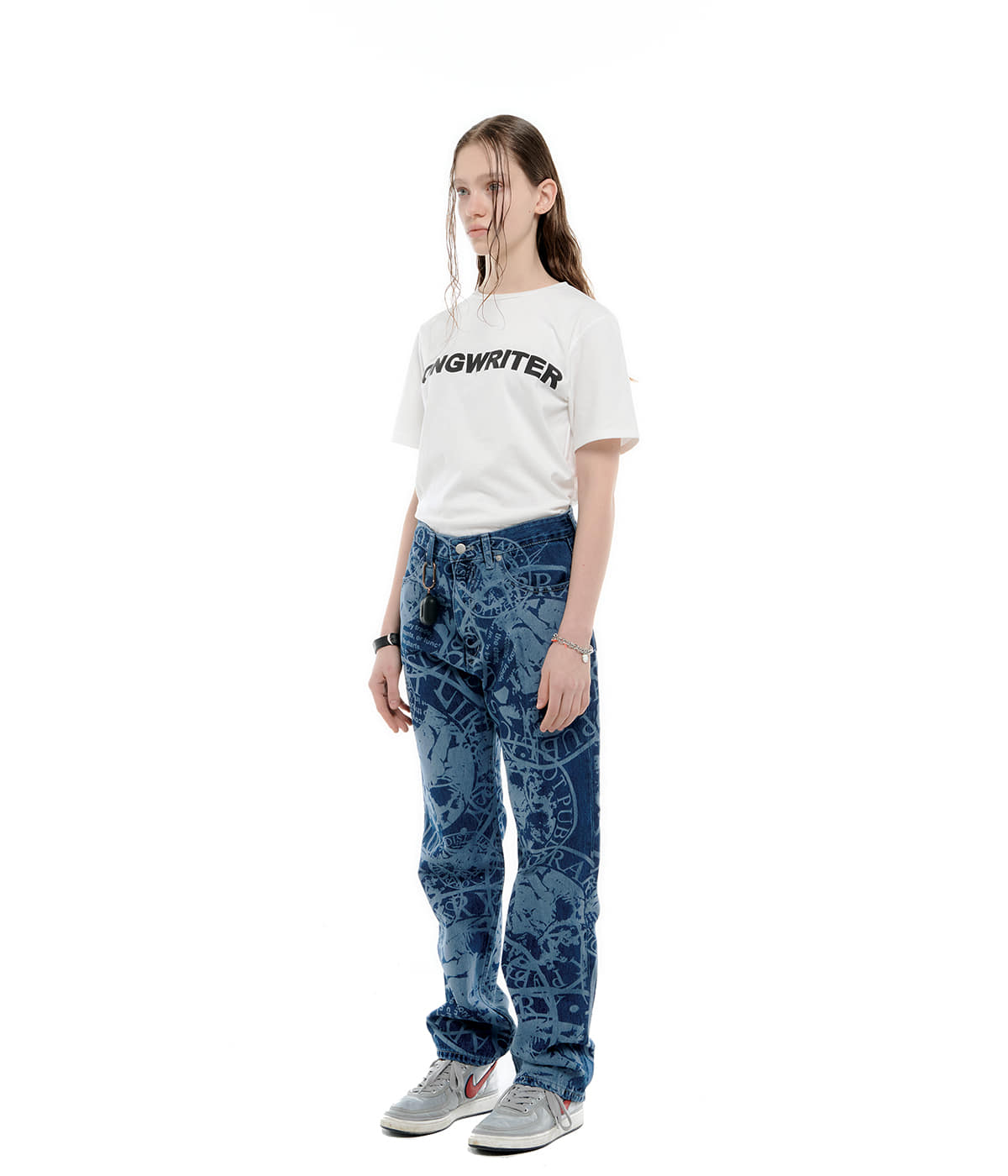 Laser Library Jeans (Deep blue)