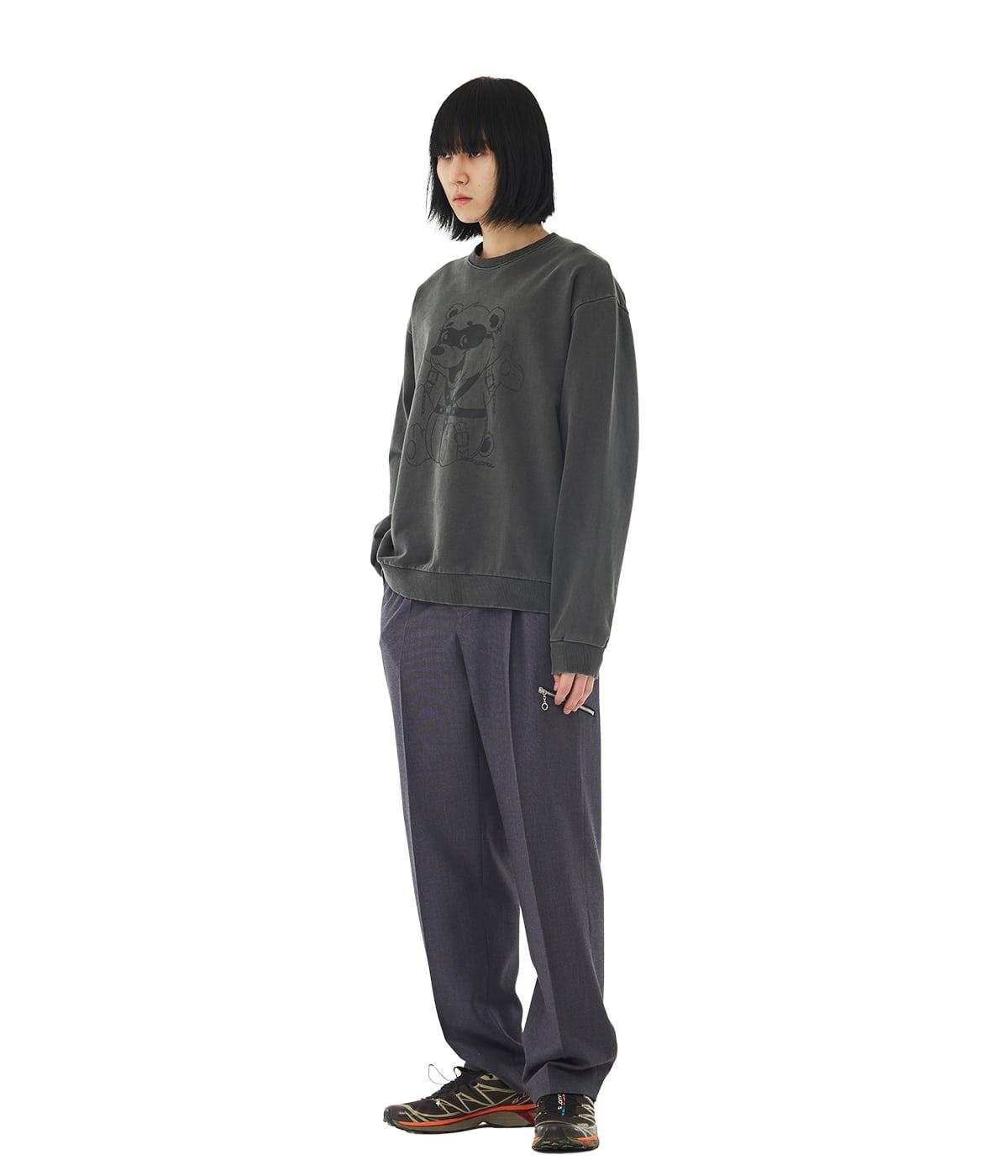 Bondaged-bear Sweatshirts (Ash Black)