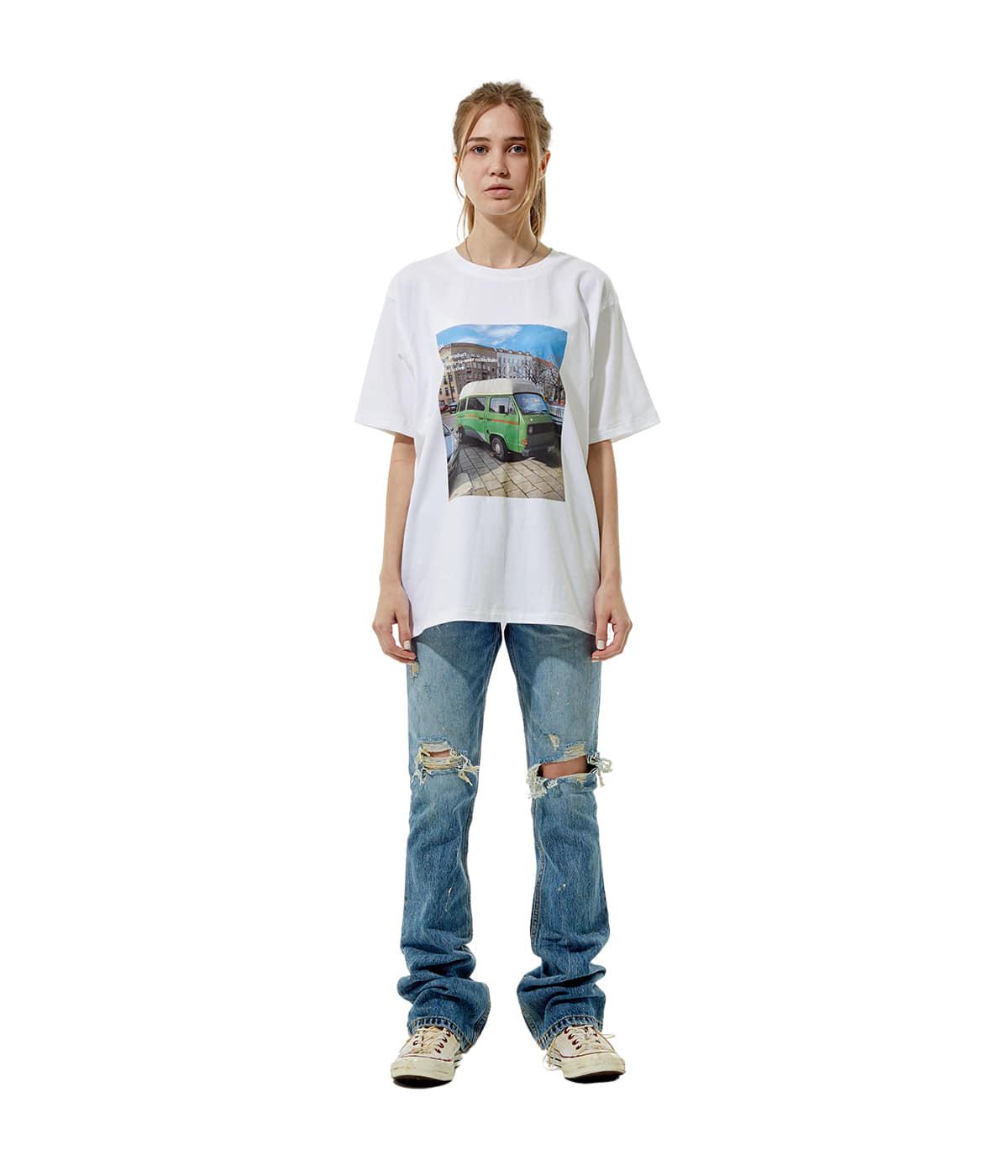 Photo #2 T-shirt (Green truck)