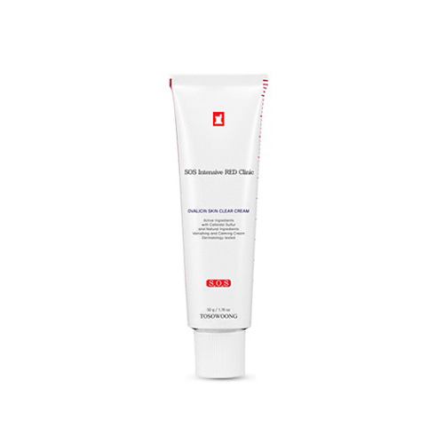 TOSOWOONG SOS Intensive RED Clinic Ovalicin Skin Clear Cream 50g