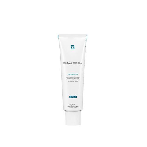 TOSOWOONG SOS Repair Cica Clinic Zinc 10% Cream 50g