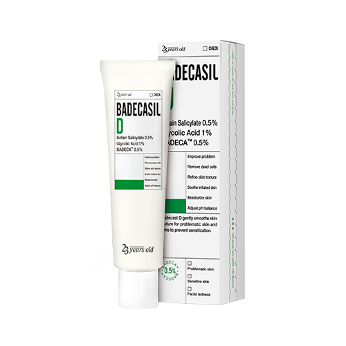 23years old Badecasil D 50g