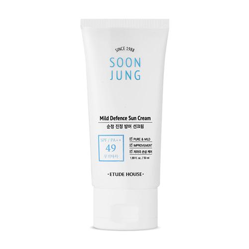 ETUDE HOUSE Soonjung Mild Defence Sun Cream SPF49 PA++ 50ml