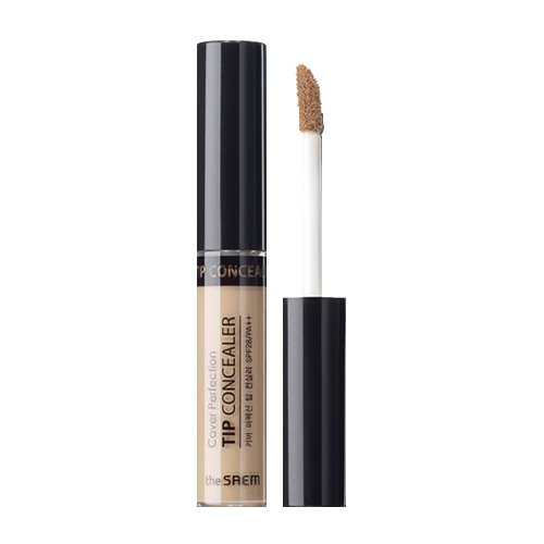 [Clearance] the SAEM Cover Perfection Tip Concealer Contour Beige 6.5g