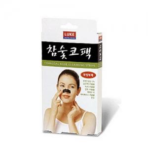 LUKE Charcoal Nose Cleansing Strips 10ea/1box