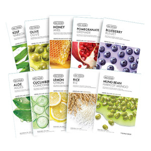 [Clearance] THE FACE SHOP Real Nature Mask 1 Sheets