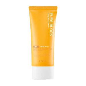 A'PIEU Pure Block Natural Daily Sun Cream SPF45 PA+++ 100ml