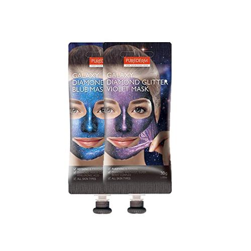 PUREDERM Galaxy Diamond Glitter Mask 30g