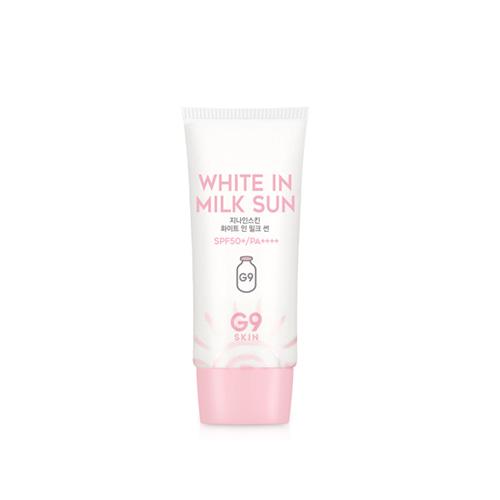 G9SKIN White In Milk Sun SPF50+ PA++++ 40g