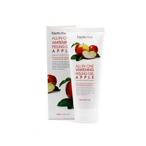 Farmstay All-In-One Whitening Peeling Gel Apple 180ml
