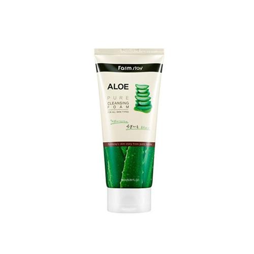 Farmstay Aloe Pure Cleansing Foam 180ml