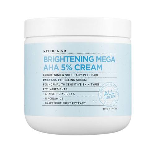 NATUREKIND Brightening Mega AHA 5% Cream 500g