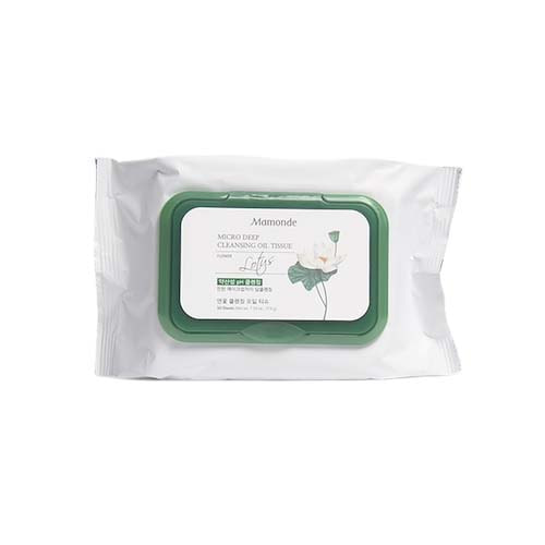 MAMONDE Micro Deep Cleansing Oil Tissue 50 Sheets