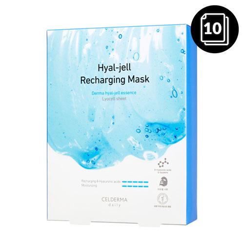 CELDERMA daily Hyal-jell Recharging Mask 10ea