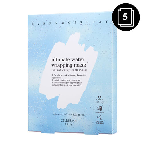 CELDERMA daily Ultimate Water Wrapping Mask 5ea